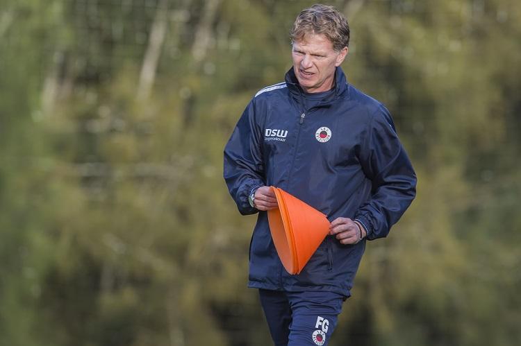 Fons Groenendijk tevreden over trainingskamp - SBV Excelsior